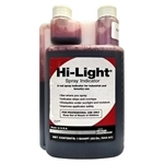 Hi-Light Red Vegetation Management Spray Indicator, 1 Qt.
