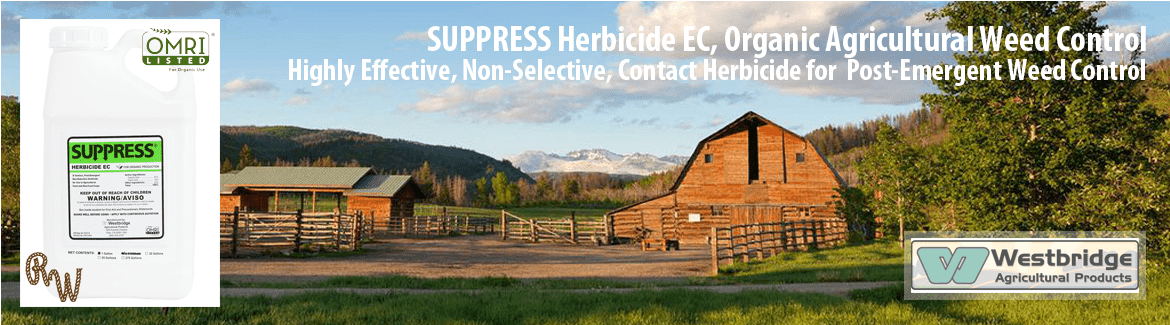Suppress Herbicide EC, Westbridge, Ranch Wholesale
